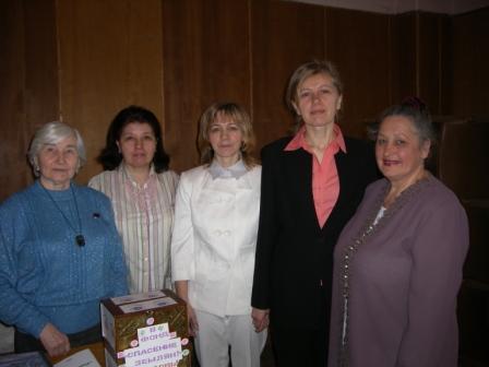 Оргкомитет встречи Алейлы с читателями